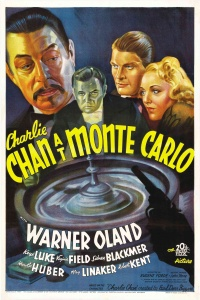 Charlie Chan at Monte Carlo poster