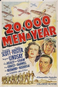 20,000 Men a Year poster
