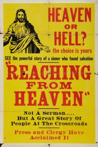 Reaching from Heaven poster