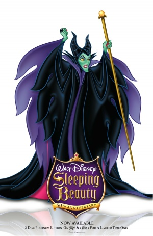 Sleeping Beauty Video release poster