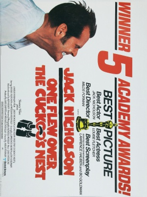 One Flew Over the Cuckoo's Nest 2193x2932