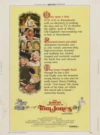 The Bawdy Adventures of Tom Jones poster