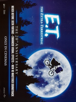 E.T.: The Extra-Terrestrial Re-release poster