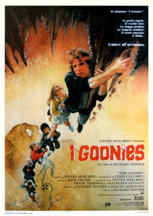 The Goonies Theatrical poster