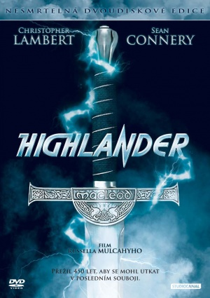 Highlander Dvd cover