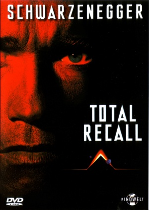 Total Recall Dvd cover