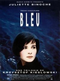 Tres colores: Azul poster