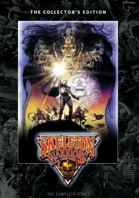 Skeleton Warriors poster