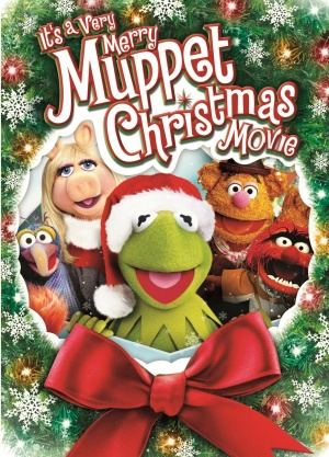 It's a Very Merry Muppet Christmas Movie Dvd cover