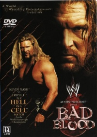 WWE Bad Blood poster