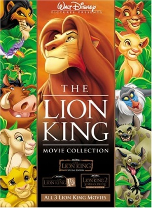 The Lion King 1½ 365x500