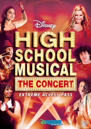 High School Musical: The Concert - Extreme Access Pass 1551x2196