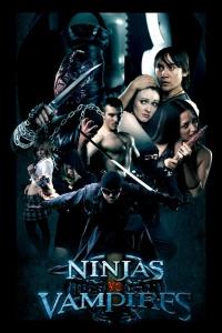Ninjas vs. Vampires poster