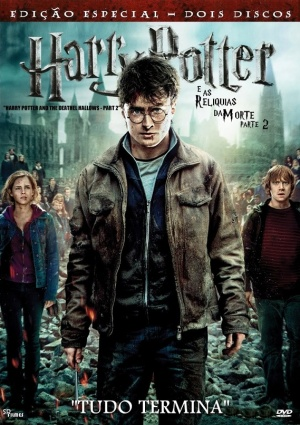 Harry Potter and the Deathly Hallows: Part II Dvd cover