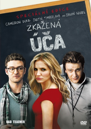 Bad Teacher Dvd cover