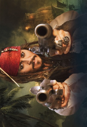 Pirates of the Caribbean: On Stranger Tides Key art
