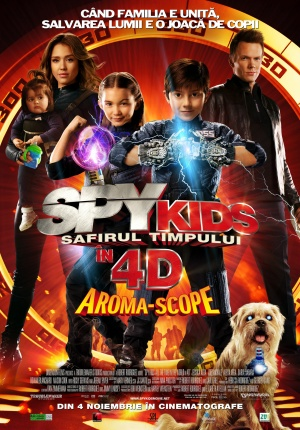 Spy Kids 4: All the Time in the World 1394x2000