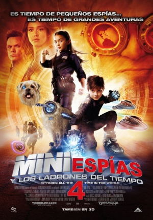 Spy Kids 4: All the Time in the World 1630x2338