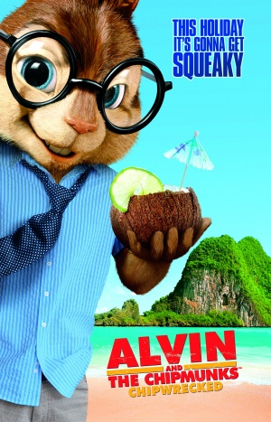 Alvin and the Chipmunks: Chipwrecked 2000x3112