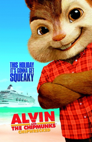 Alvin and the Chipmunks: Chipwrecked 2000x3102