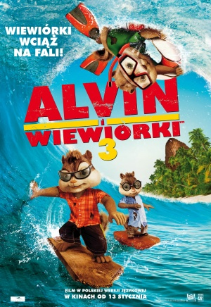 Alvin and the Chipmunks: Chipwrecked 1871x2721