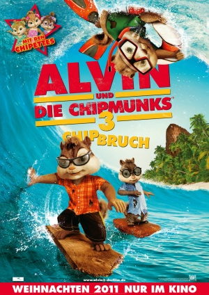 Alvin and the Chipmunks: Chipwrecked 990x1400