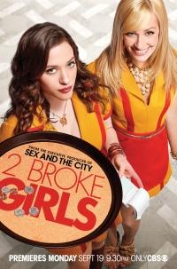 2 Broke Girls - Pleite in Brooklyn poster