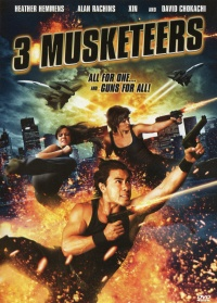 3 Musketeers poster