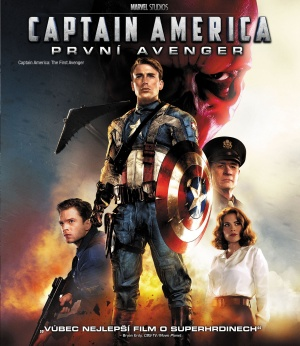 Captain America: The First Avenger Blu-ray cover