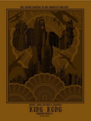 King Kong Homage poster