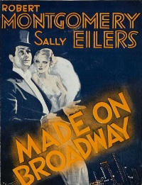 Made on Broadway poster