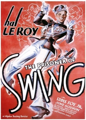 The Prisoner of Swing Theatrical poster