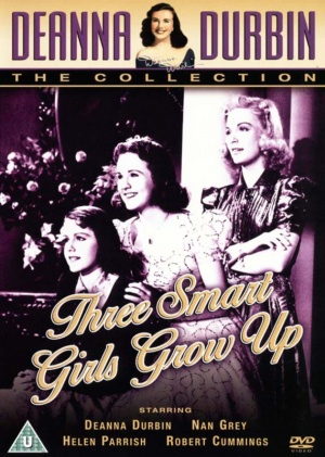 Three Smart Girls Grow Up Dvd cover