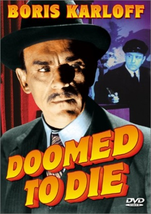 Doomed to Die Dvd cover