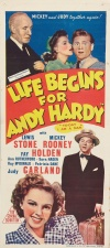 Life Begins for Andy Hardy Poster