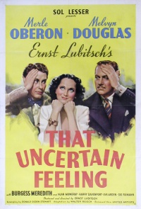 That Uncertain Feeling poster