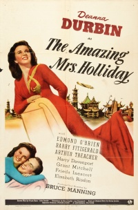 The Amazing Mrs. Holliday poster