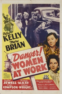 Danger! Women at Work poster
