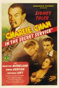Charlie Chan in the Secret Service poster