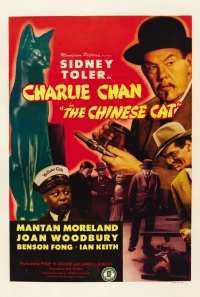 Charlie Chan in The Chinese Cat poster