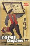 Copie conforme Poster