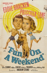 Fun on a Week-End poster