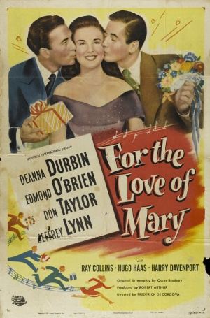 For the Love of Mary Poster