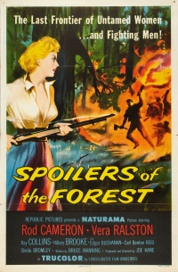 Spoilers of the Forest poster