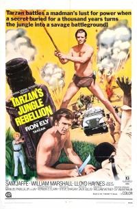 Tarzan's Jungle Rebellion poster