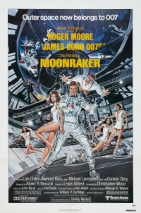 Ian Fleming's Moonraker poster