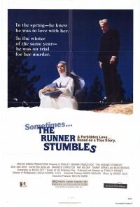 The Runner Stumbles poster