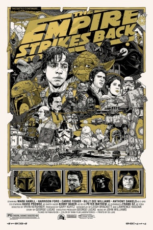 Star Wars: Episode V - The Empire Strikes Back Homage poster