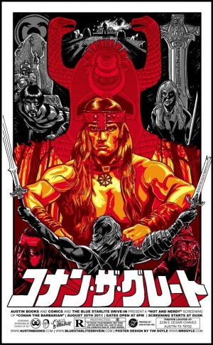 Conan The Barbarian Homage poster