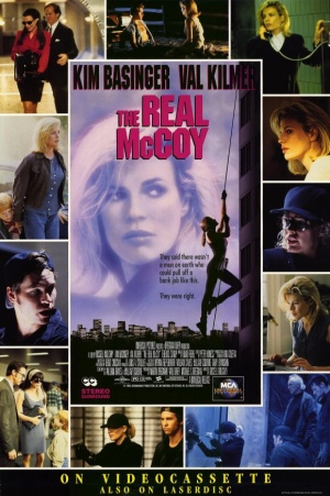 The Real McCoy Video release poster
